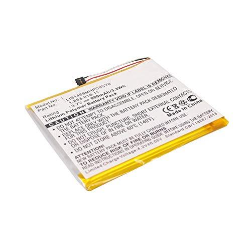 subtel® Premium Akku kompatibel mit Sony PRS-350 PRS-650 (900mAh) Ersatzakku Batterie Tabletakku