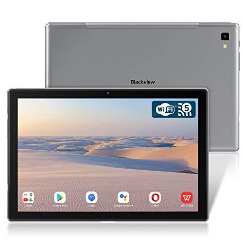 Blackview Tab 8E Tablet 10.1 Zoll, 1920x1200 FHD IPS Display Android 10 Octa-Core Prozessor Tablet PC mit 6580mAh Akku, 13MP+5MP Kamera, 3GB RAM, 32GB Speicher, 5G WiFi GPS OTG Type-c (Grau)