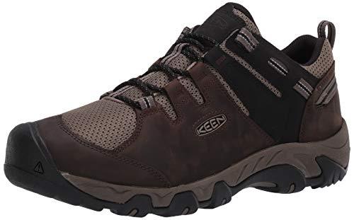 KEEN Men's Steens Vent Hiking Shoe, Brown, 11