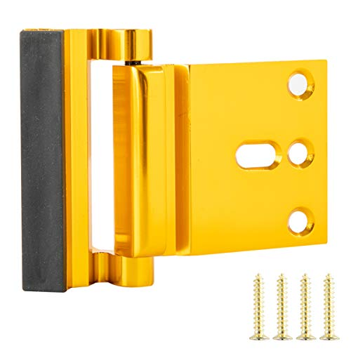 "Defender Security U 9590 Lock and Door Reinforcer Stainless Steel 2-3//8/"" Backset Add Extra Security to your Home Help Prevent Forced Entry Fits 1-3//4/"" Doors Reinforce and Repair Wood or Metal Doors"