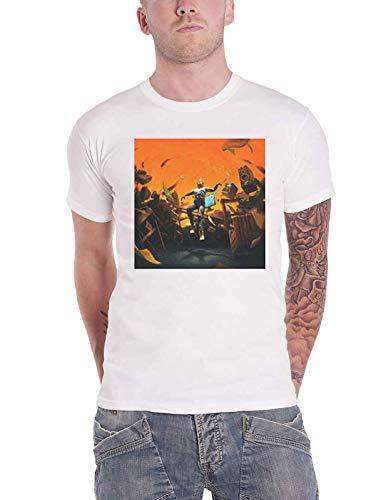 Logic T Shirt No Pressure Logo Nuevo Oficial De Los Hombres Blanco Size S