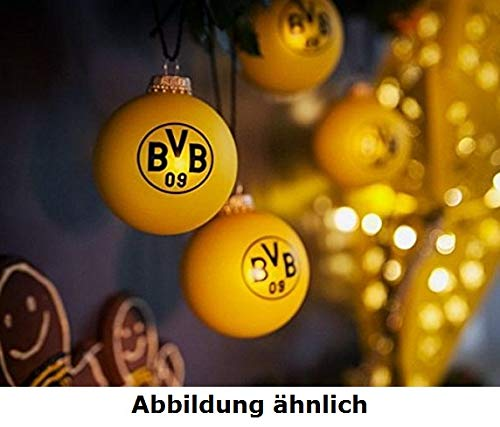 Borussia Dortmund BVB 09 Fanartikel Christbaumkugel Set 9teilig