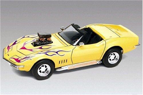 Carro Corvette Roadster 1968 - 2 em 1 2544