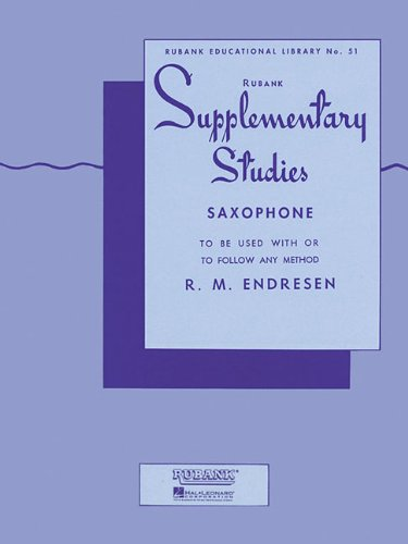 Supplementary Studies: Saxophone