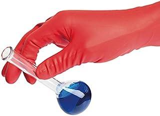 アズワン 耐薬手袋 ORANGE NITRILE L 90枚入 /4-1060-03
