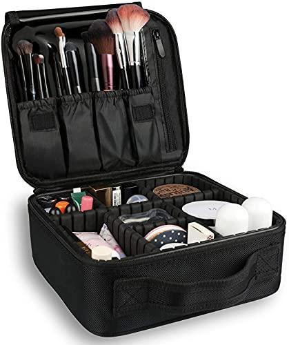 Estuche de maquillaje de viaje Estuches de entrenamiento de cosméticos profesionales Bolsa de almacenamiento para artistas Cajas de herramientas de maquillaje
