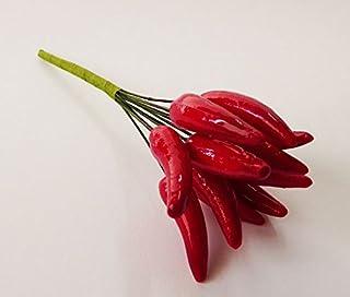 WINOMO 50pcs Peperoncino Artificiale Verdura Peperoncino Decorazione