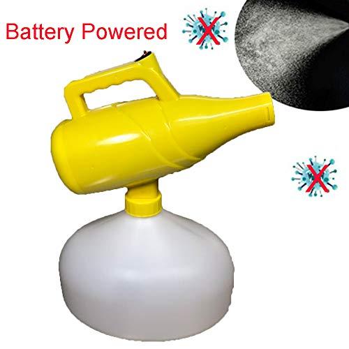 WYY Nebulizador ULV Portatil Electrico Inalámbrico Pulverizador Electrico con Batería De Litio Desinfectante De La Máquina Recargable Atomizador para Interior Y Coches Desinfección,Metal Nozzle