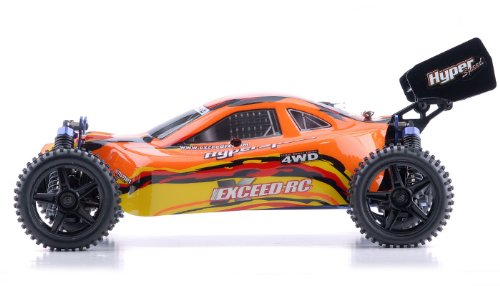 Exceed-RC 1/10 2.4Ghz Hyper Speed Beginner Version .18 Engine Nitro Powered Off Road Buggy BAHA RedSTARTER KIT Required