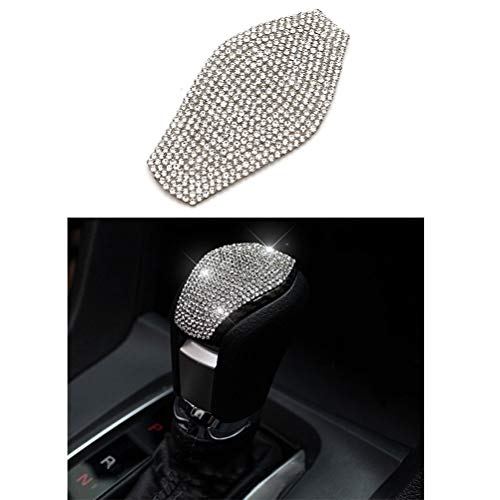 Thor-Ind Bling Interior Accessories Gear Shift Knob Cover Trim for Honda Civic 2016 2017 2018 2019 2020 2021