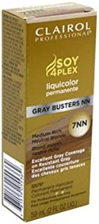 Clairol Professional Liquicolor 7Nn Gray Busters Medium Rich Neutral Blonde 2oz (2 Pack)