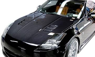 350z carbon fiber hood