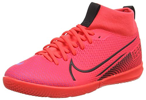 Nike Zapatillas de fútbol unisex para niños Superfly 7 Academy IC, color Rosa, talla 33.5 EU