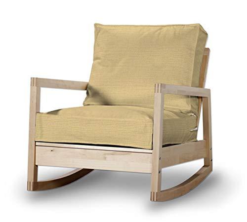 Dekoria Lillberg Sesselbezug Husse passend für IKEA Modell Lillberg Sandfarben, beige