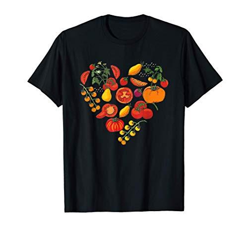 Tomatenliebe Hobbygärtner Gärtner Garten Tomaten T-Shirt