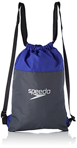 Speedo Pool Bag, Oxid Grey/Ultramarine, One Size