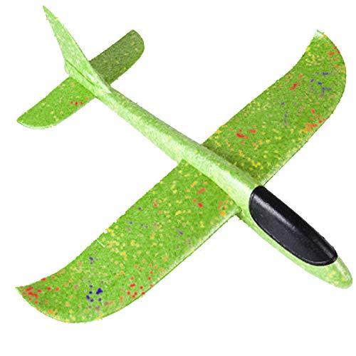 LOOKAa Bubble Throwing Glider Flugzeug Flugzeug Spielzeug Hand Flugzeug Modell, das beste Geschenk für Kinder, bringen Sie ihnen ein perfektes Outdoor-Erlebnis Gr. One size, C