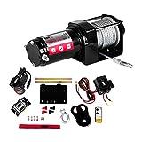 MSW Treuil 4x4 PROPULLATOR 3500-A (3.500 lbs, 1,2 PS/12V, rapport de transmission 153:1, câble en acier 5,4 mm x 10 m, train épicycloïdal différentiel)