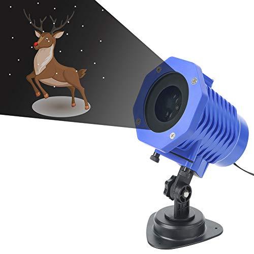 PICKME wasserdichte Der Feiertags-LED-Projektor-Licht Für Weihnachtsfest-Garten-Halloween-Hochzeits-Dekoration, Scheinwerfer-Landschaftslampe Fernbedienung Und 8 Folien