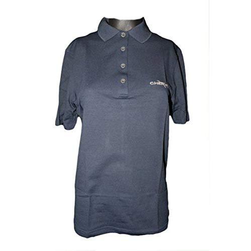 chervo Golf Polo anguillara, Femme, Bleu marine Bleu Bleu D 38-40 (M)