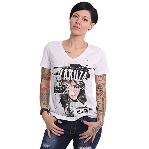 Yakuza Damen My Knife V-Neck T-Shirt