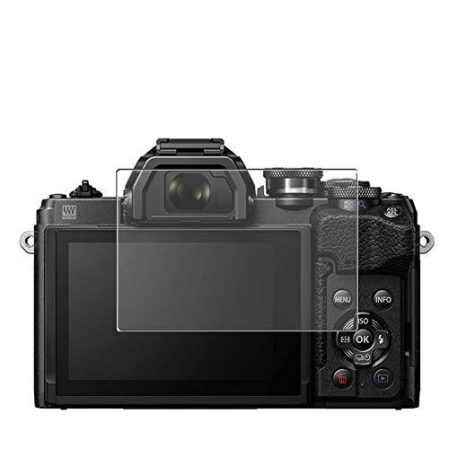 Vaxson - Pellicola proteggi schermo compatibile con Olympus OM-D E-M10 Mark IV, pellicola protettiva in vetro temperato (non temperato), confezione da 3