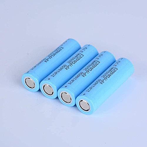 Batería Recargable de 18500 1200mAh 3.7V batería para Paneles solares-4pcs