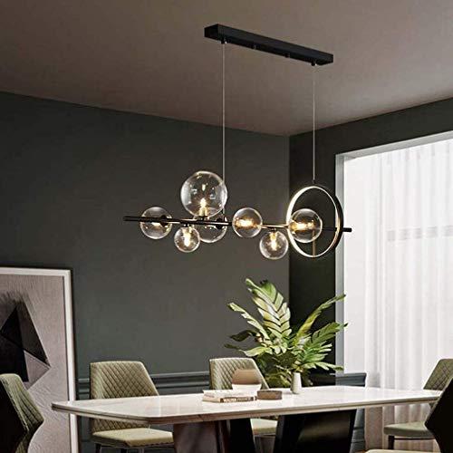 Lampada a sospensione a LED Tavolo da pranzo lampada a sospensione, G4 e LED in vetro a sfera a...