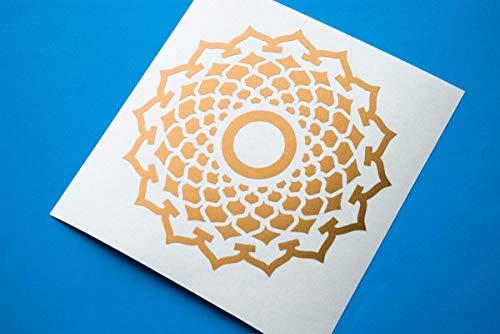 Muurdecoratie Sahasrara Chakra Decal, Sahasrara Sticker, Yoga Muurdecoratie, Muurstickers, Yoga Decals, Kroon Chakra Laptop Decoratie, Muurstickers Makkelijk aan te brengen