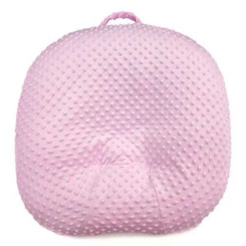 cyberjotting 27,5 × 27,5 × 4,7 Zoll Abnehmbare Baby-Isomattenhülle Superweicher Waschbarer Kissenbezug, Extrem Bequem, Sicher Für Babys-Pink