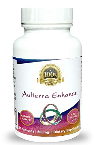 Aulterra Enhance Supplement for EMF Protection, Proprietary Blend of Paramagnetic Minerals Neutralizes Harmful EMF(60 Capsules)