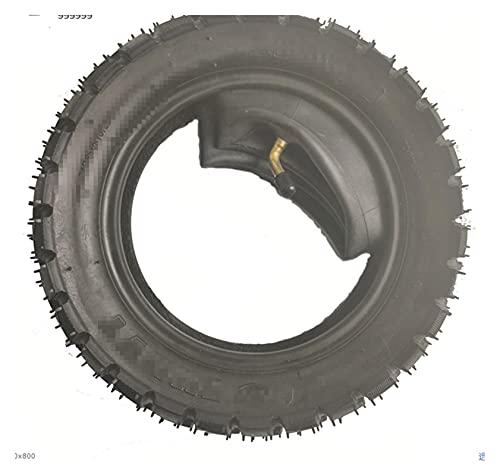 Heartwarming Shop Ajuste para cero 10x neumático 255x80 10 pulgadas de neumático fuera de carretera interior exterior neumático de travesía a través de neumáticos sin deslizamiento y scooter eléctrico
