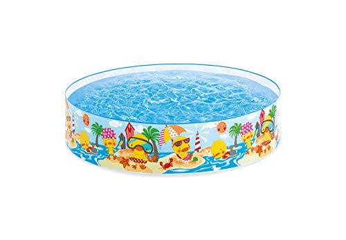 Intex 4FT X 10IN Duckling SNAPSET Pool Schwimmbecken, Mehrfarbig