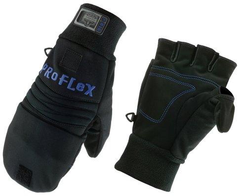 Ergodyne Proflex 816 Thermal Flip-Top Glove, Large
