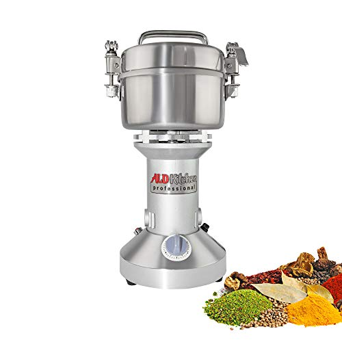 ALDKitchen Grain Mill Grinder High-Speed Powder Machine | Electric | Vertical Pulverizer | 350 gr |110V