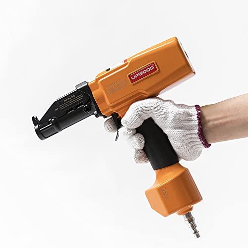 Air Nail Puller Nail Remover by UPWOOD, Professional Pneumatic Nail Tool Denailer Tool for Wood Pallet Fence