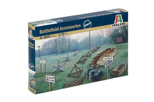 The Hobby Company 8001283060493 Italeri 510006049 – 1:72 Zubehör Schlachtfeld WWII