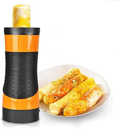 LCSD Eierkessel. Electric Egg Roll Maker Multifunktionsfrühstücksmaschine Omelett Frühstück Eierkessel Kühlung Eierkocher Wurstmaschine Vertikal Nonstick Egg Cooke Home DIY Kocher Küche Kochen Werkzeu