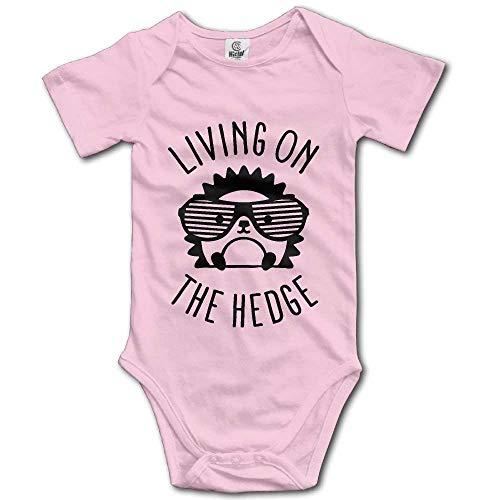 WlQshop Body Bébé Garçon Fille, Cutee Living on The Hedge Hedgehog with Glasses Babysuit Infant Jumpsuit Kawaii Baby Girls Boys Romper Bodysuits