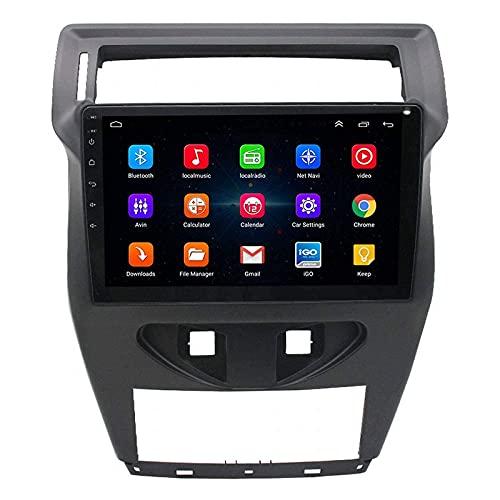 Coche Estéreo Radio Audio Reproductor multimedia Sat Nav HD Pantalla táctil Soporte Bluetooth GPS Wifi Radio FM Puerto USB dual Enlace espejo para Citroen C4 C-Quatre 2012-2020,4 Core 4G + WiFi: 1 + 3