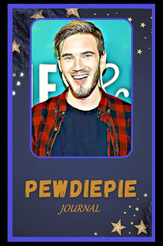Journal: Pewdiepie Inspired College Ruled Notebook for Writing ( 6x9, Thick Paper, 120 Pages )
