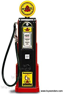 Yatming - Digital Gas Pump Pennzoil (1/18 scale diecast model, Black) 98791 diecast motorcycles and cars
