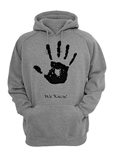 ShutUp We Know Black Hand Sweatshirt Unisex