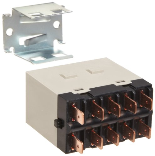 Omron G7J-4A-T-W1 DC24 General Purpose Relay With Mounting Bracket, Quick-Connect Terminal, W-Bracket Mounting, Quadtruple Pole Single Throw Normally Open Contacts,  83 mA Rated Load Current, 24 VDC Rated Load Voltage