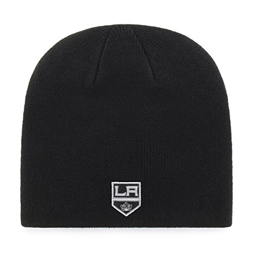OTS NHL Los Angeles Kings Men's Beanie Knit Cap, Team Color, One Size