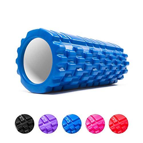 #DoYourFitness Faszienrolle - inkl. Gratis PDF Übungsbuch - Rückenrolle Massagerolle Schaumstoffrolle Foam Roller Für Faszientraining von Rücken, Wirbelsäule und mehr - Blau
