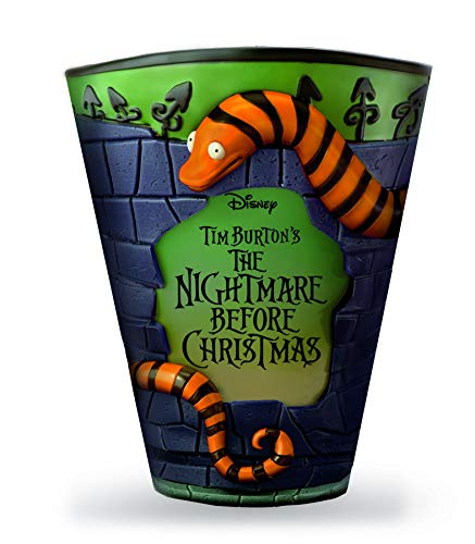 The Nightmare Before Christmas Bathroom Trash Can Exclusively from The Bradford Exchange   Disney Officially Authorized Bath Ensemble Collection 'Looking for Treats' Waste Basket