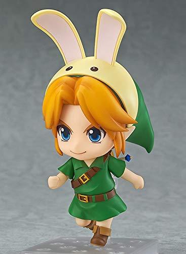 XINFAN Figura de Zelda Majora Mask 3D Link Figure Zelda Figure Majora'S Mask Legend of No Densetsu Kazeno Figura Rinquedo