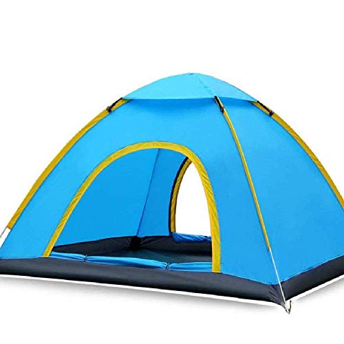 XIUYU Camping Tent, Quick Open Outdoor Tent 3-4 People Camping Equipment Beach Gazebo Size 200 * 180 * 130cm