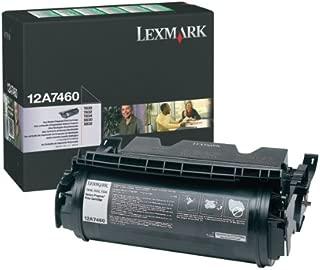 Lexmark OEM Toner 12A7460 (1 Cartridge) (12A7460) -